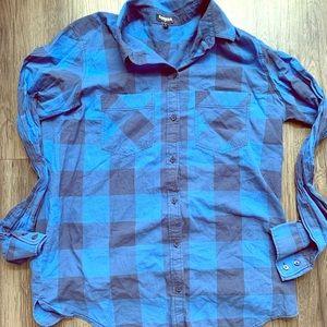 Express Long-Sleeve Button-Up Shirt